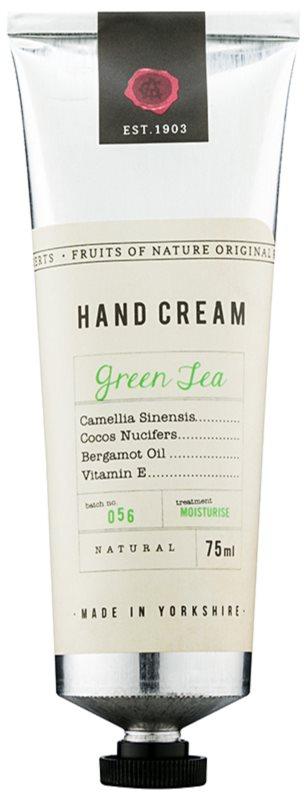 Fikkerts Fruits of Nature Green Tea creme intensivo hidratante para mãos e unhas