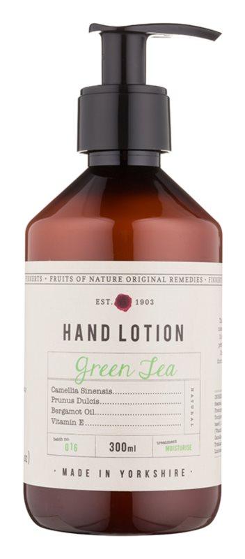 Fikkerts Fruits of Nature Green Tea hydratační mléko na ruce