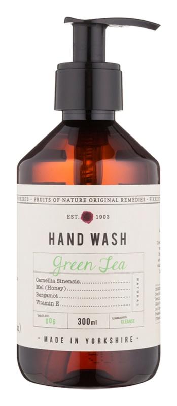 Fikkerts Fruits of Nature Green Tea Săpun lichid pentru mâini