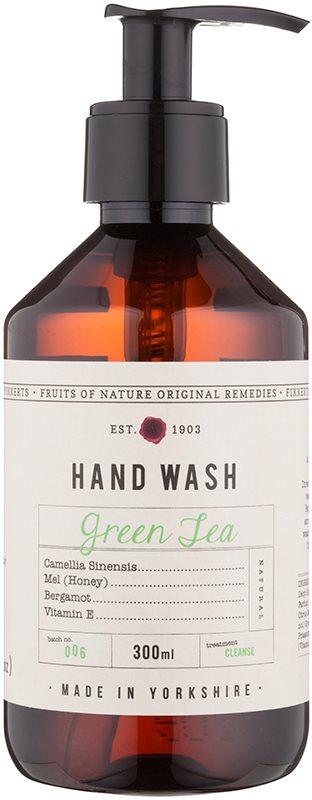 Fikkerts Fruits of Nature Green Tea tekuté mýdlo na ruce