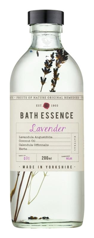 Fikkerts Fruits of Nature Lavender ölige Essenz für das Bad