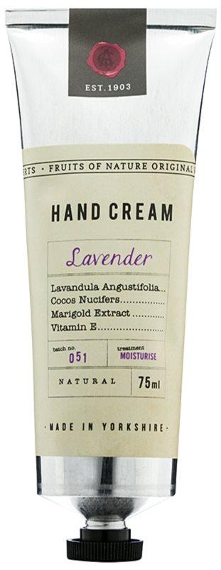 Fikkerts Fruits of Nature Lavender intenzivně hydratační krém na ruce a nehty