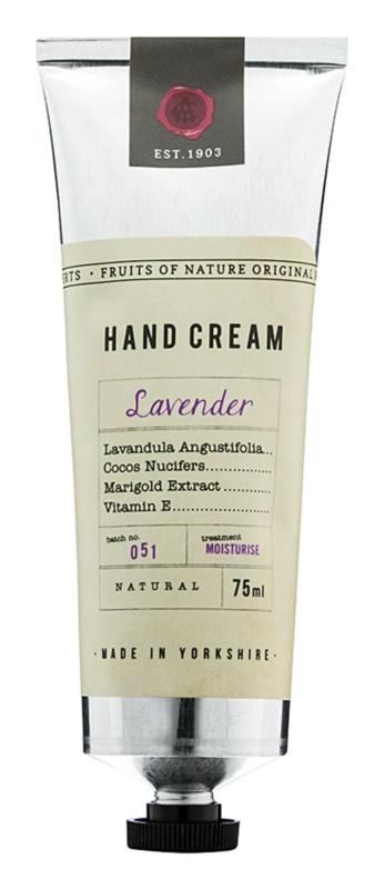 Fikkerts Fruits of Nature Lavender krem intensywnie nawilżający do rąk i paznokci
