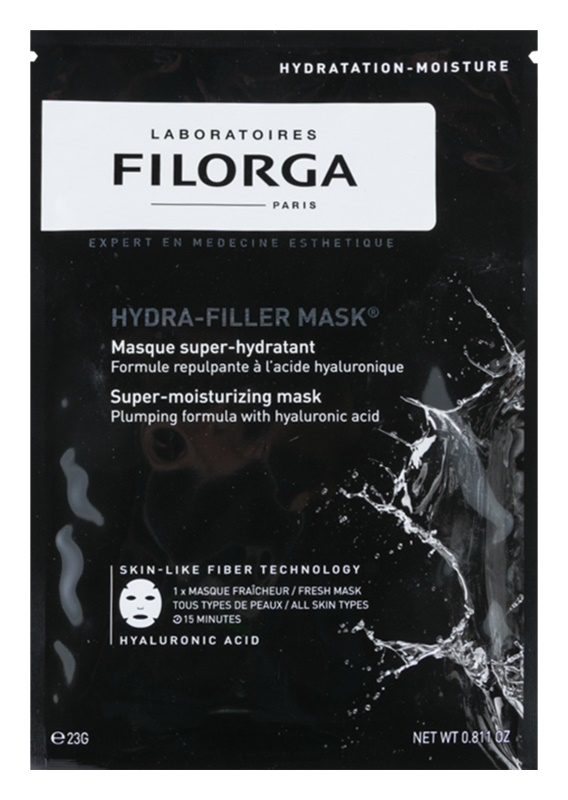 Filorga Hydra Filler Hydrating Face Mask With Hyaluronic Acid