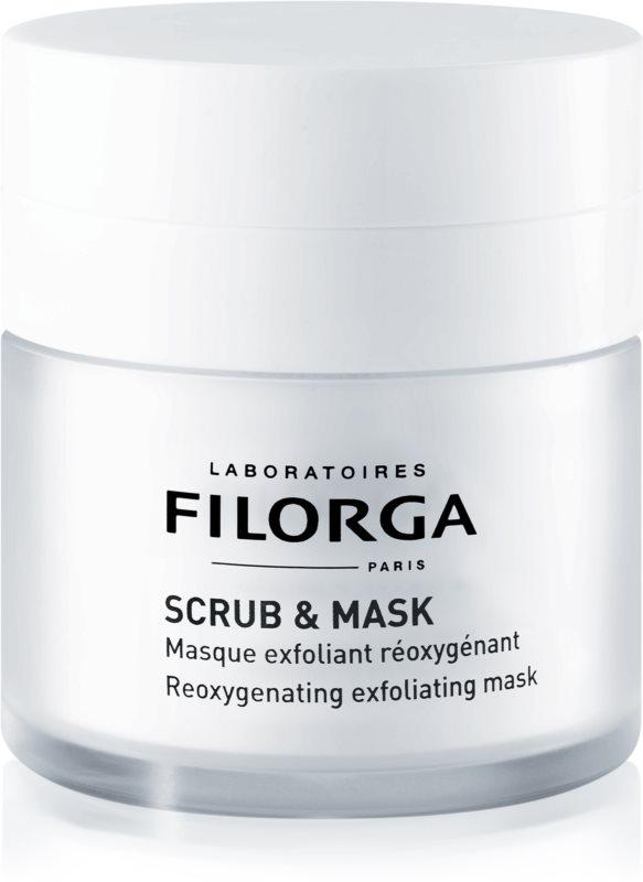 Filorga Scrub & Mask окисляваща ексфолираща маска за подновяване на кожните клетки
