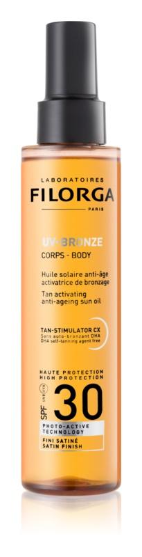 Filorga UV-Bronze захисна олійка для підтримки засмаги SPF 30