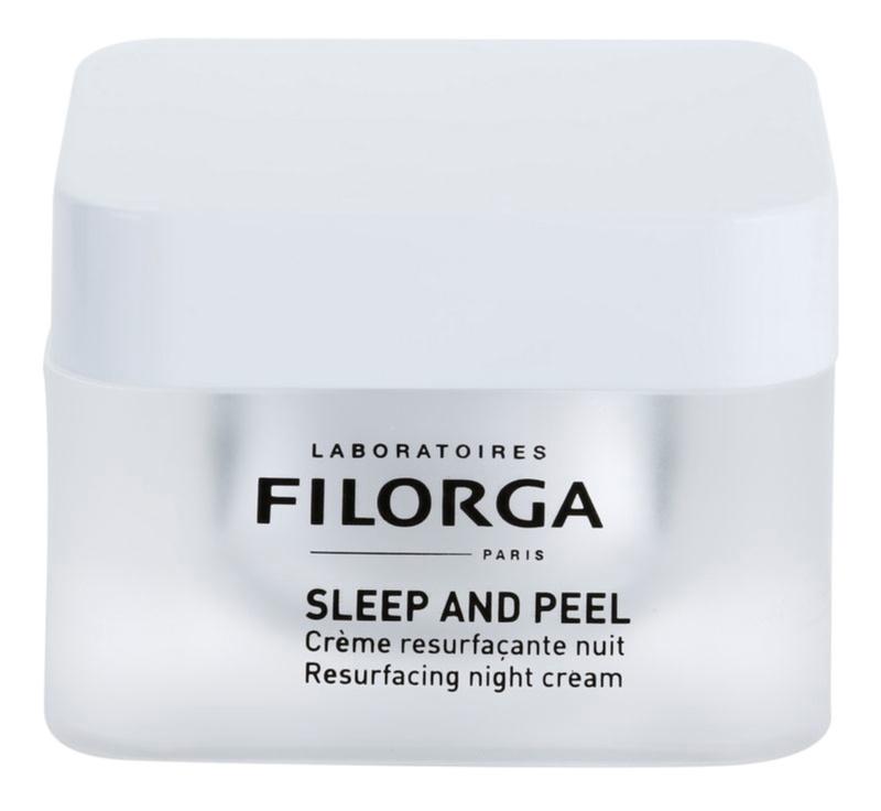 Filorga Sleep & Peel crema de noche reparadora  para iluminar y alisar la piel