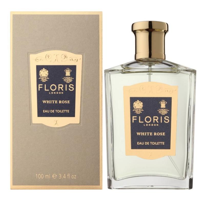 Floris White Rose toaletní voda pro ženy 100 ml
