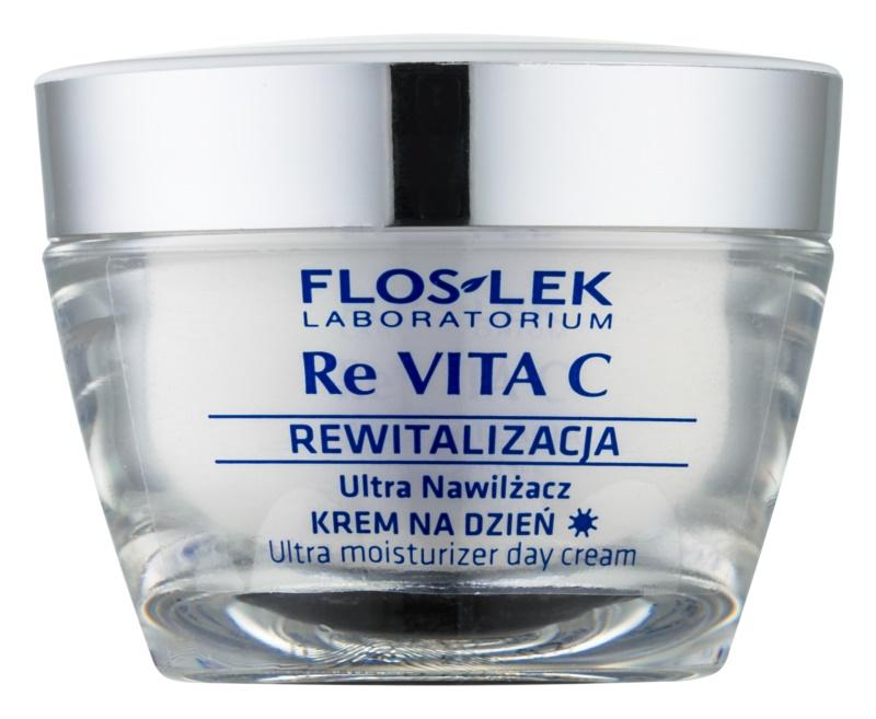 FlosLek Laboratorium Re Vita C 40+ intenzivní hydratační krém s protivráskovým účinkem