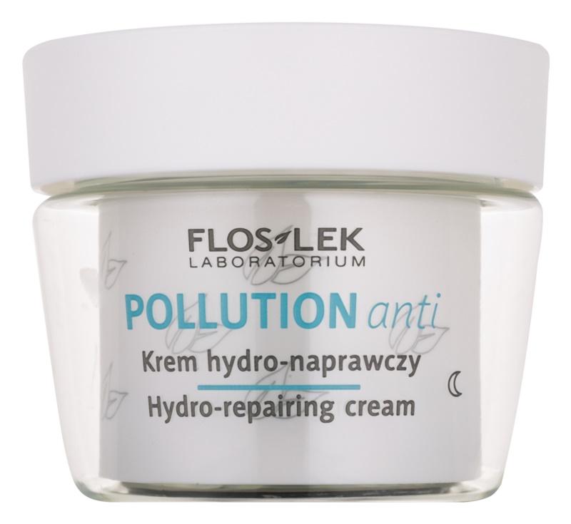 FlosLek Laboratorium Pollution Anti hydratačný nočný krém s regeneračným účinkom