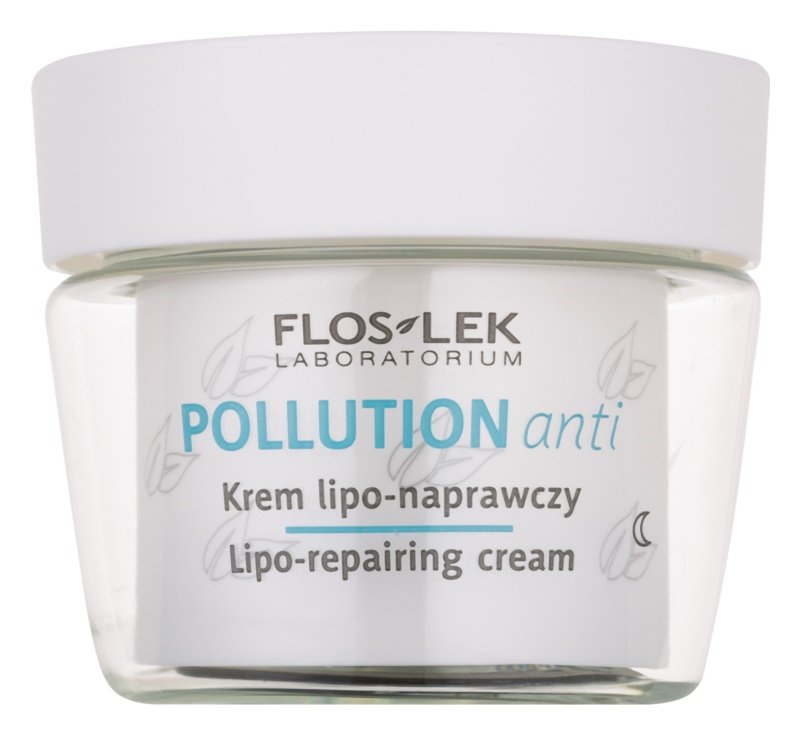 FlosLek Laboratorium Pollution Anti regenerujący krem na noc