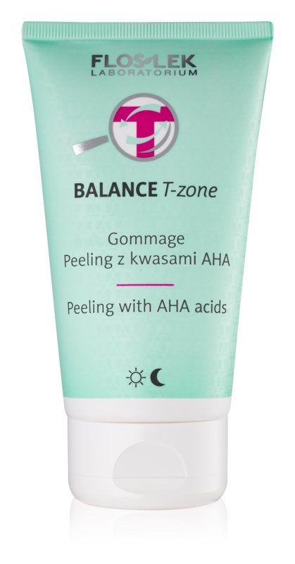 FlosLek Laboratorium Balance T-Zone piling za mešano kožo