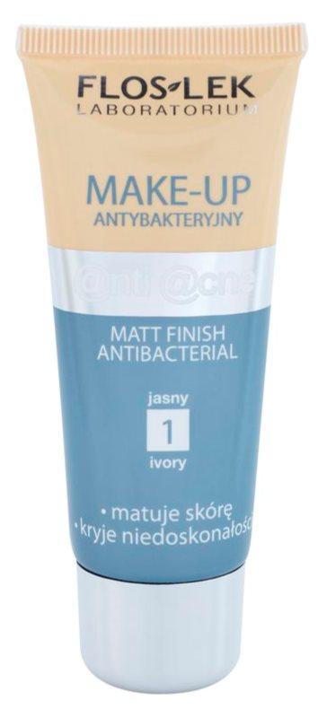 FlosLek Laboratorium Anti Acne тональний крем з матуючим ефектом для жирної шкіри зі схильністю до акне