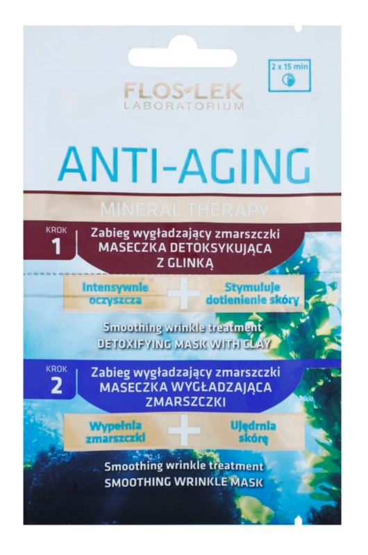 FlosLek Laboratorium Anti-Aging Mineral Therapy Anti-Wrinkle Treatment With Minerals