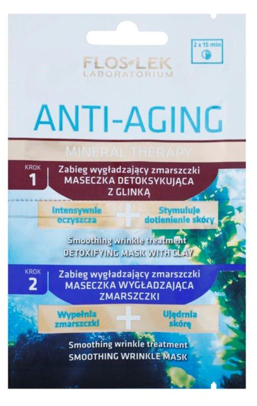 FlosLek Laboratorium Anti-Aging Mineral Therapy tratamiento antiarrugas con minerales