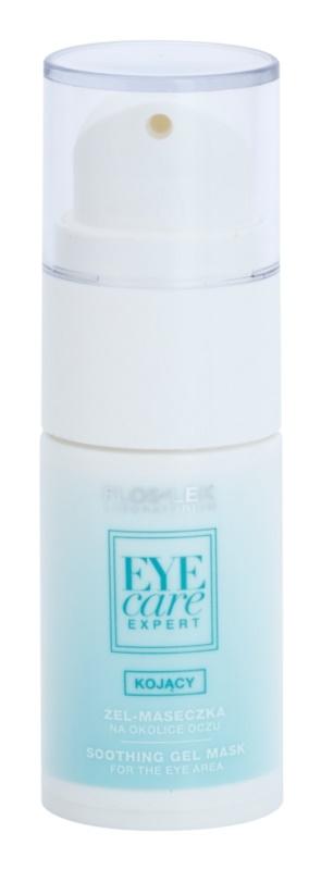 FlosLek Laboratorium Eye Care Expert mascarilla gel calmante para contorno de ojos