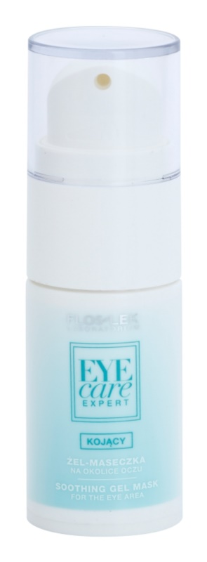 FlosLek Laboratorium Eye Care Expert zklidňující gelová maska na oční okolí