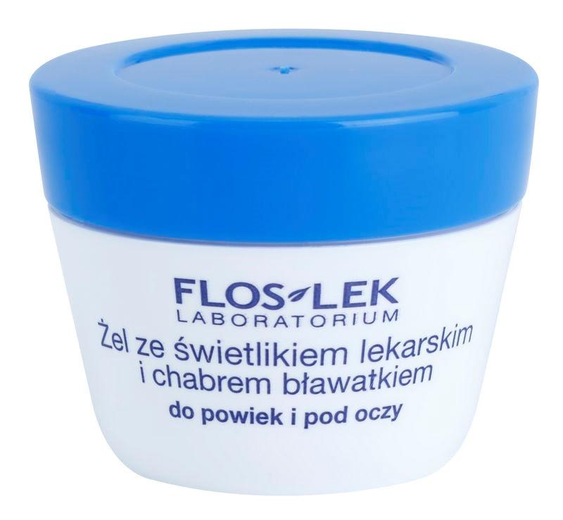 FlosLek Laboratorium Eye Care gel contour des yeux à l'euphraise et bleuet