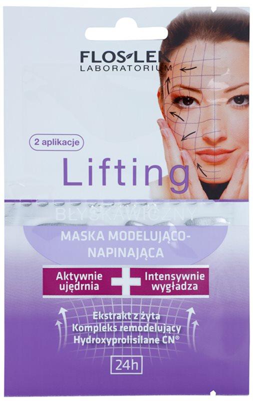 FlosLek Laboratorium Lifting Immediate maska za obraz z učinkom preoblikovanja