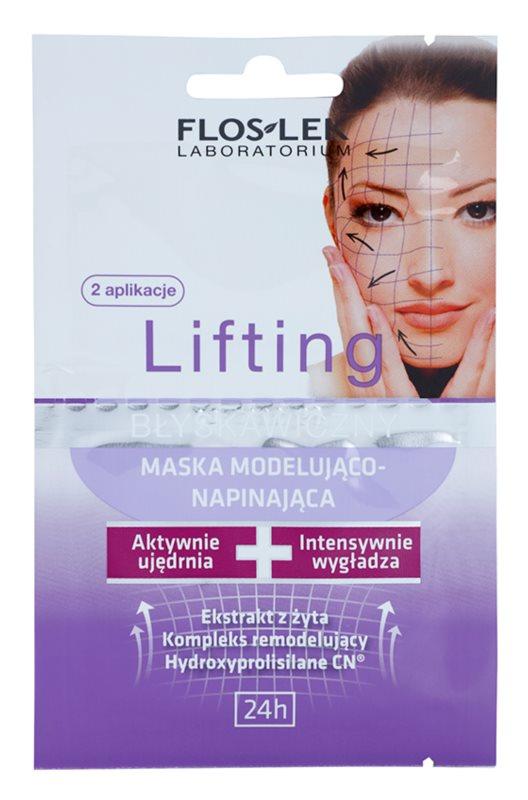 FlosLek Laboratorium Lifting Immediate pleťová maska s remodelujícím účinkem