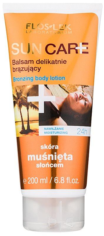 FlosLek Laboratorium Sun Care leite bronzeador para corpo