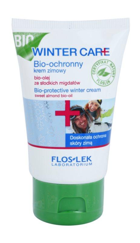 FlosLek Laboratorium Winter Care creme de inverno Bio-protetor com óleo de amêndoas
