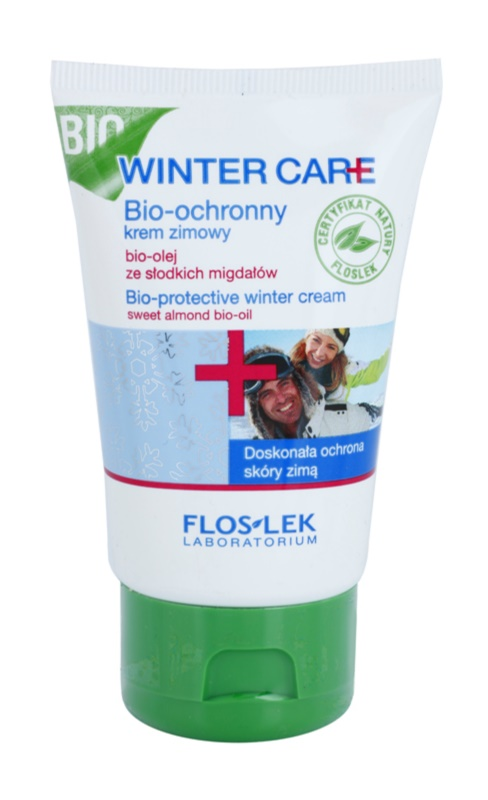 FlosLek Laboratorium Winter Care crème d'hiver bio-protectrice à l'huile d'amande