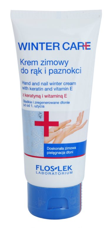 FlosLek Laboratorium Winter Care Protective Winter Cream for Hands and Nails