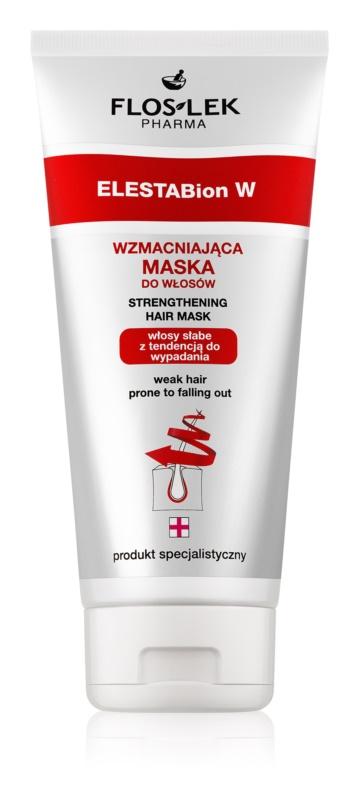 FlosLek Pharma ElestaBion W подсилваща маска за слаба коса