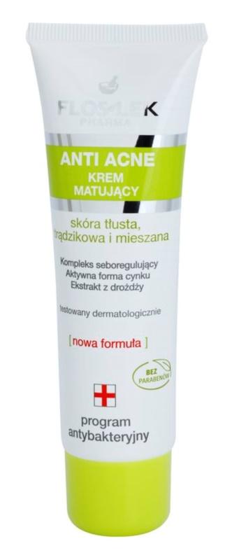 FlosLek Pharma Anti Acne matující krém pro pleť s nedokonalostmi