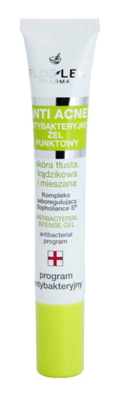 FlosLek Pharma Anti Acne antibakteriální gel k lokálnímu použití