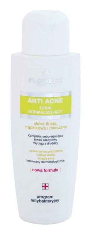 FlosLek Pharma Anti Acne tónico normalizante para reducir la producción de grasa