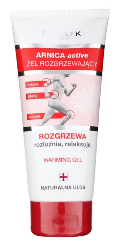 FlosLek Pharma Arnica Active зігріваючий гель для розслаблення м'язів та суглобів