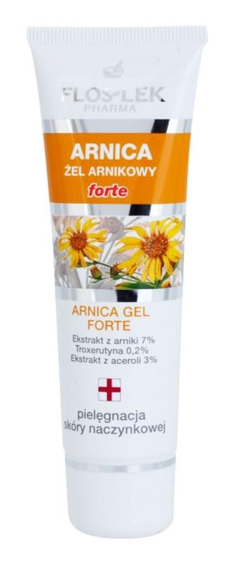 FlosLek Pharma Arnica Forte upokojujúci gél na pleť so sklonom k začervenaniu