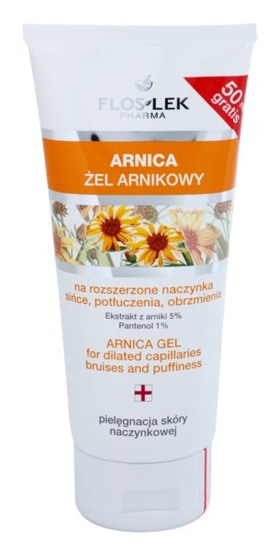FlosLek Pharma Arnica Gel for Bruises and Swelling