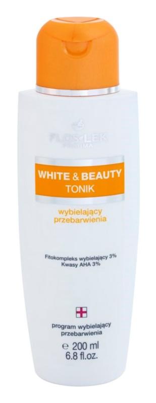 FlosLek Pharma White & Beauty tonikum s bieliacim účinkom
