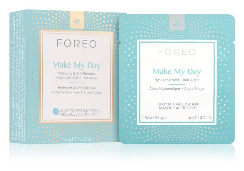 FOREO UFO™ Make My Day ochranná pleťová maska s hydratačným účinkom