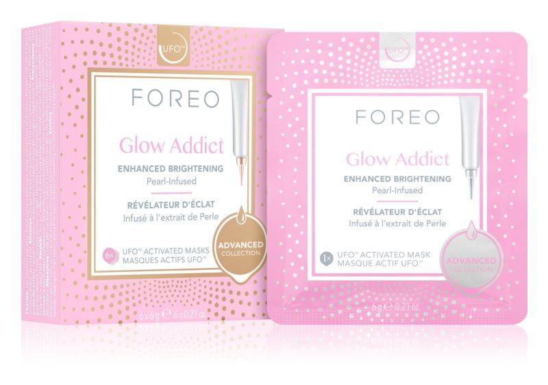 FOREO UFO™ Glow Addict maska za posvetlitev