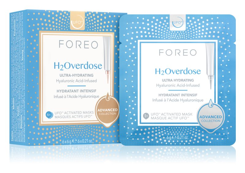 FOREO UFO™ H2Overdose intenzivně hydratační a vyživující maska