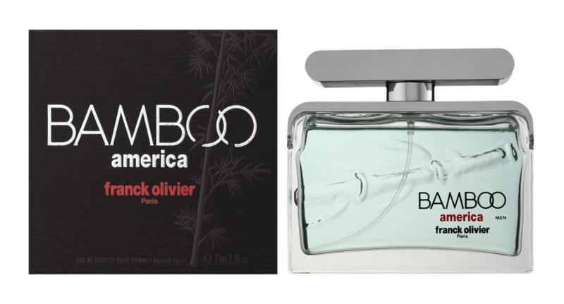 Franck Olivier Bamboo America eau de toilette pour homme 75 ml
