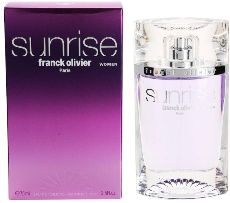 Franck Olivier Sunrise Eau de Toilette für Damen 75 ml