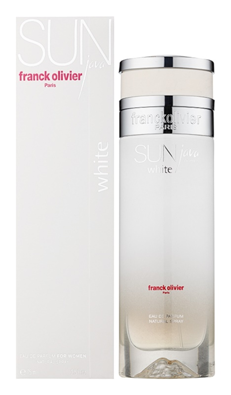 Franck Olivier Sun Java White Women Eau de Parfum for Women 75 ml