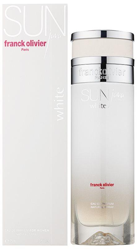 Franck Olivier Sun Java White Women Eau de Parfum voor Vrouwen  75 ml