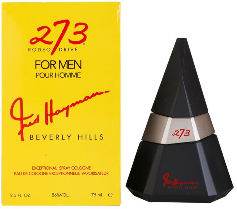 Fred Haymans 273 Eau de Toilette para homens 75 ml