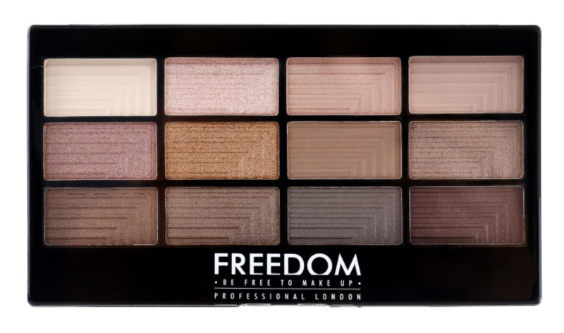 Freedom Pro 12 Audacious 3 palette de fards à paupières avec applicateur