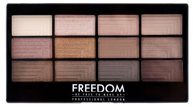 Freedom Pro 12 Audacious 3 szemhéjfesték paletta applikátorral