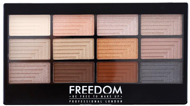 Freedom Pro 12 Le Fabuleux paleta senčil za oči z aplikatorjem