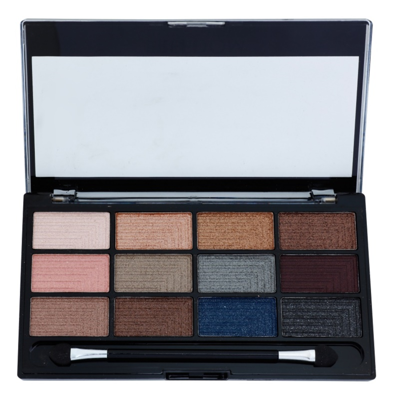 Freedom Pro 12 Romance and Jewels paleta farduri de ochi cu aplicator