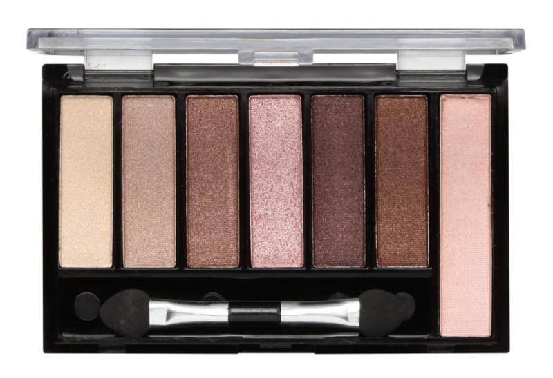 Freedom Pro Shade & Brighten Shimmers paleta očních stínů s rozjasňovačem