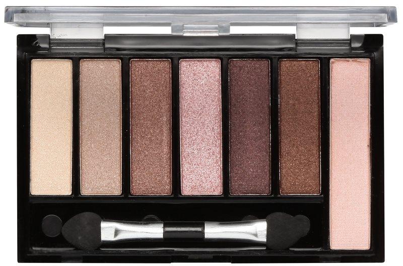 Freedom Pro Shade & Brighten Shimmers paleta očných tieňov s rozjasňovačom